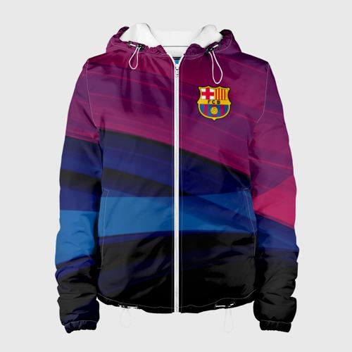 Женская куртка 3D FC Barca 2018 Original