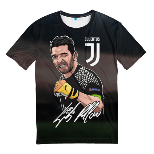 Мужская футболка 3D Джанлуиджи Буффон