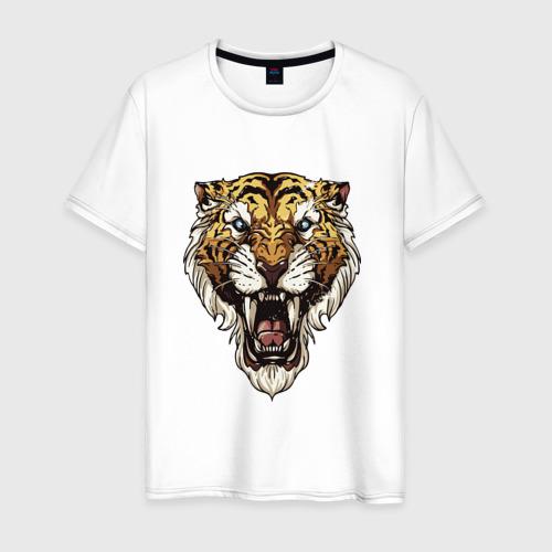 Мужская футболка хлопок Тигр тигр тигрррррррр