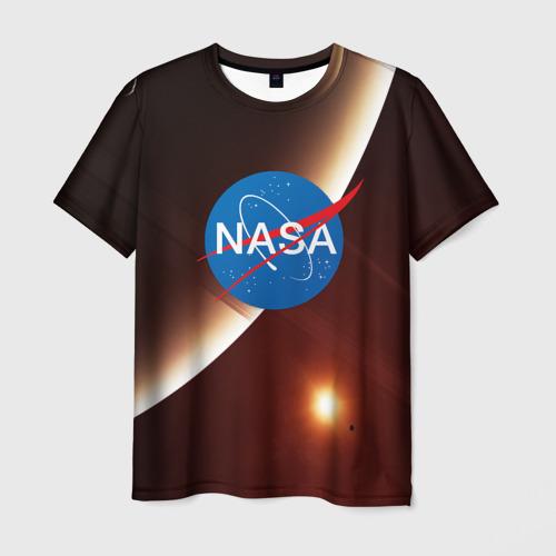 Мужская футболка 3D NASA SPACE