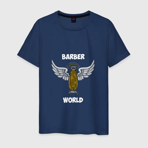 Мужская футболка хлопок Barber world