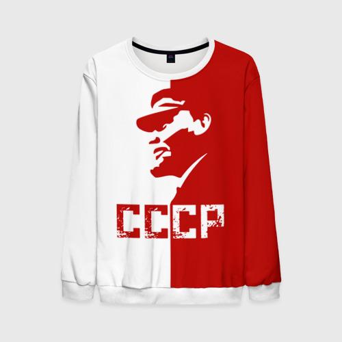 Мужской свитшот 3D Ленин СССР
