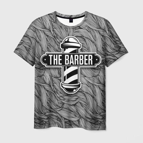 Мужская футболка 3D The Barber