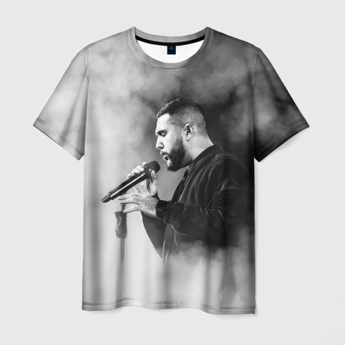 Мужская футболка 3D Jah Khalib