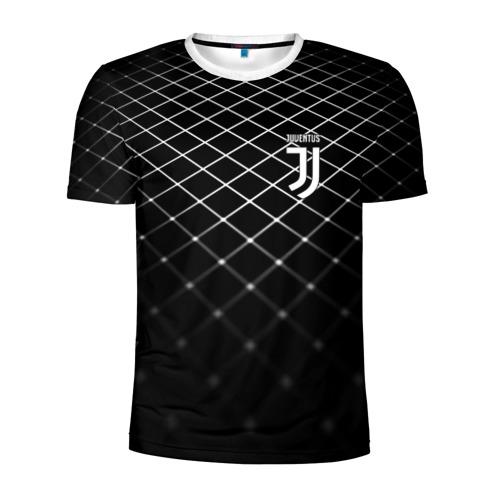 Мужская футболка 3D спортивная Juventus 2018 Line