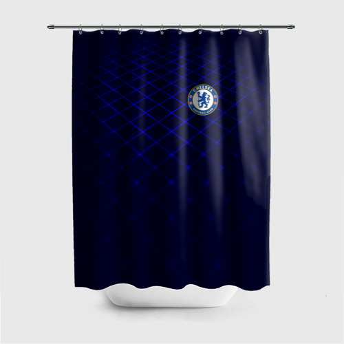 Штора 3D для ванной Chelsea 2018  Uniform