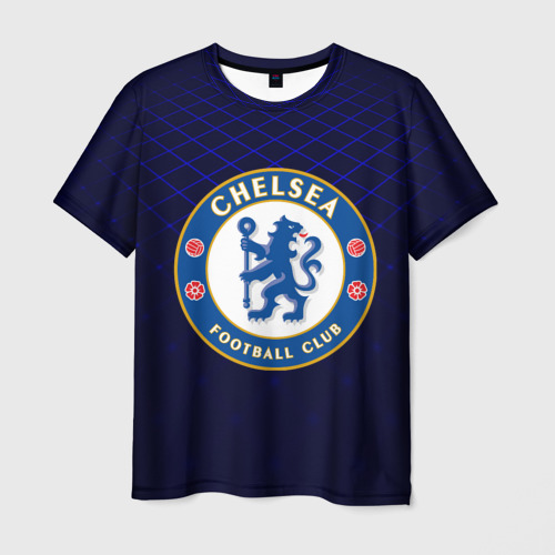 Мужская футболка 3D Chelsea 2018 Uniform