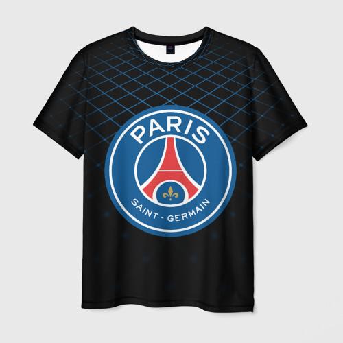 Мужская футболка 3D PSG 2018 Line