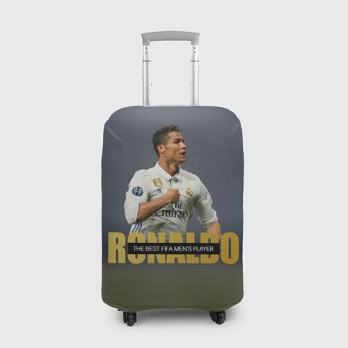 Чехол для чемодана 3D Криштиану Роналду 4