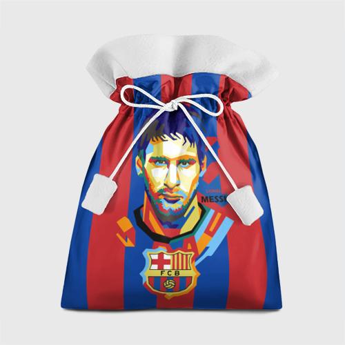 Подарочный 3D мешок Lionel Messi