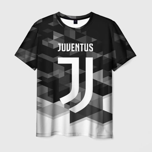 Мужская футболка 3D JUVENTUS / ЮВЕНТУС GEOMETRY SPORT