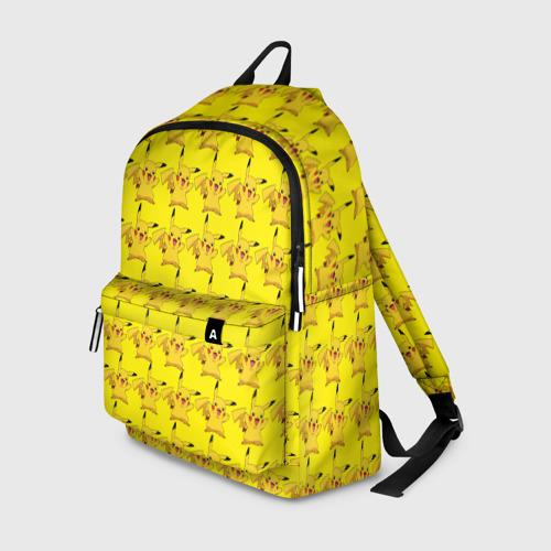 Рюкзак 3D Пикачу бомбинг