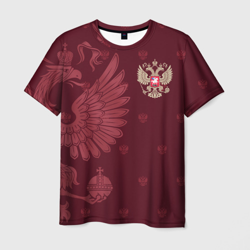 Мужская футболка 3D Герб России