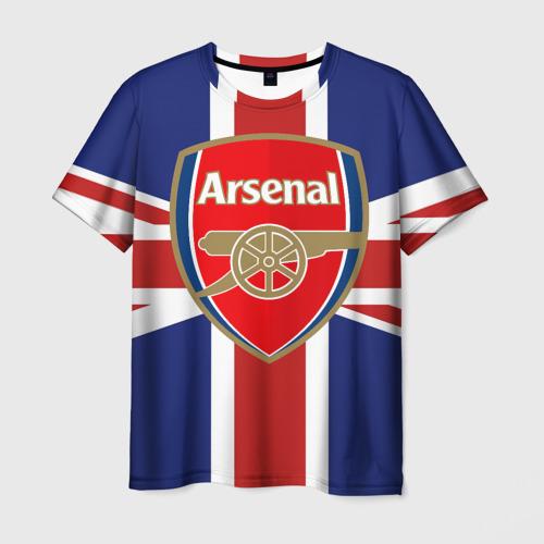 Мужская футболка 3D FC Arsenal