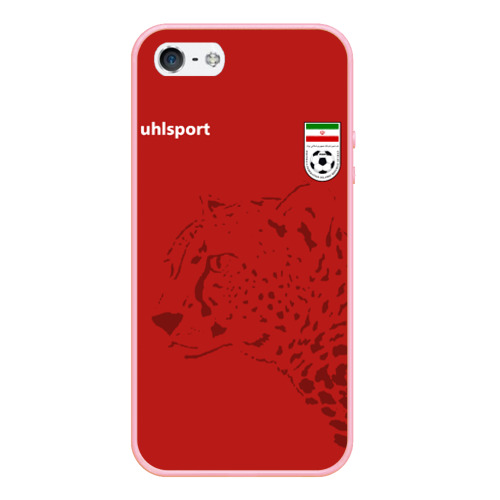 Чехол для iPhone 5/5S матовый Иран, форма