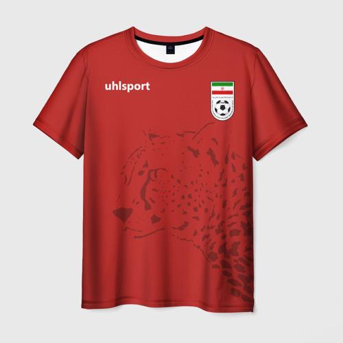 Мужская футболка 3D Иран, форма