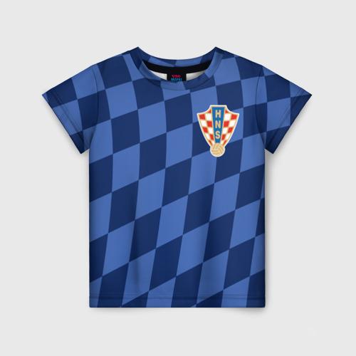 Детская футболка 3D Хорватия, форма