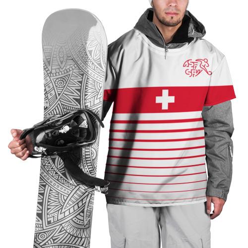 Накидка на куртку 3D Швейцария, форма