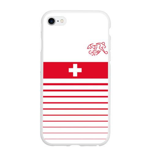 Чехол для iPhone 6Plus/6S Plus матовый Швейцария, форма
