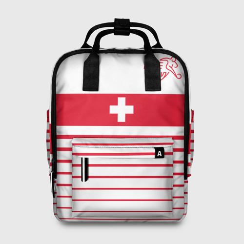 Женский рюкзак 3D Швейцария, форма