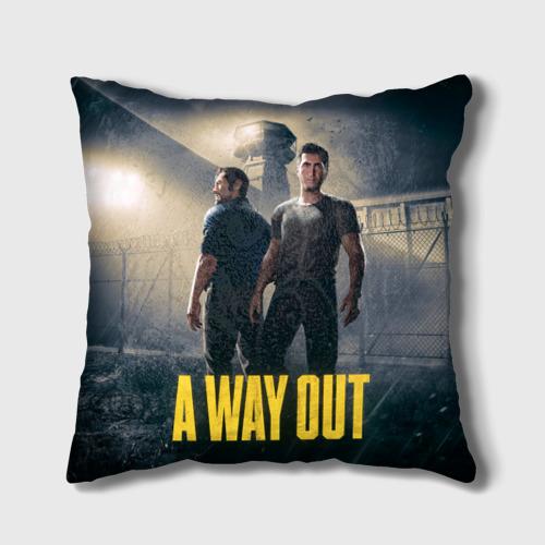 Подушка 3D A Way Out