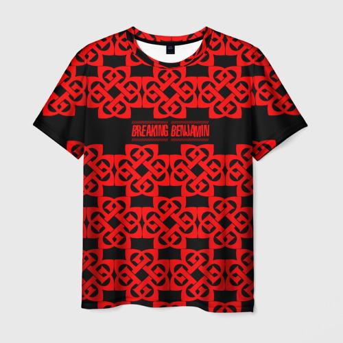Мужская футболка 3D BREAKING BENJAMIN MUSIC ROCK