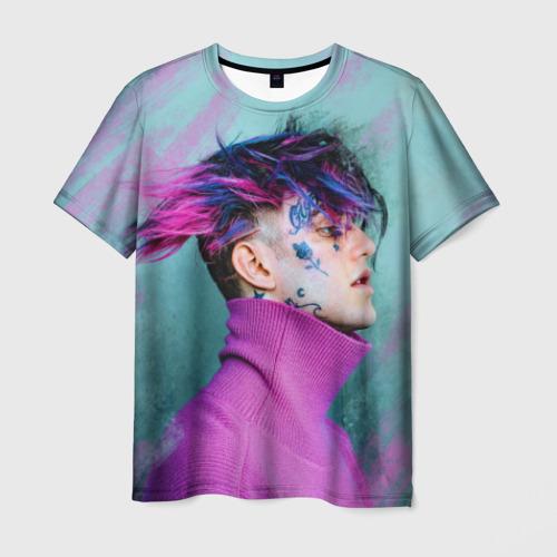 Мужская футболка 3D Lil Peep