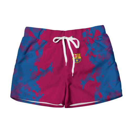Женские шорты 3D FC Barca 2018 Original