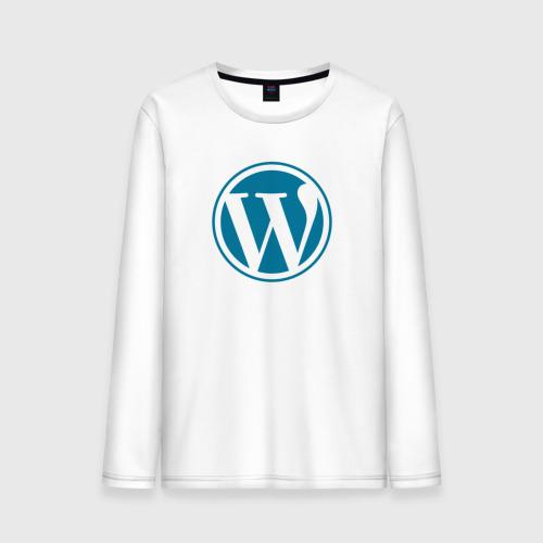 Мужской лонгслив хлопок WordPress CMS