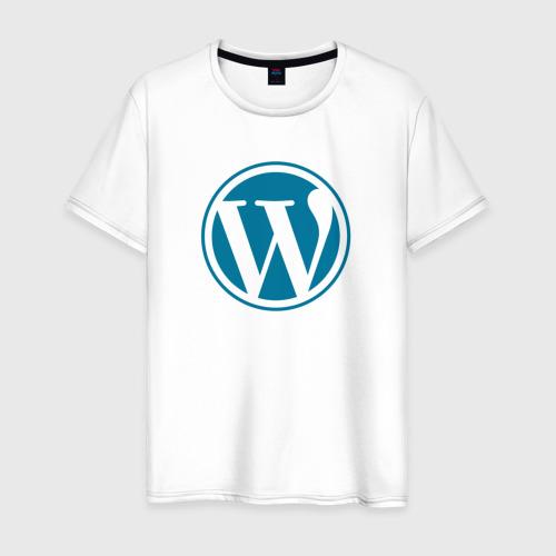 Мужская футболка хлопок WordPress CMS