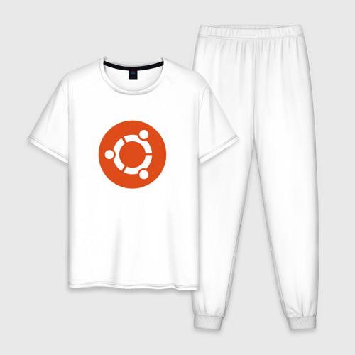 Мужская пижама хлопок Ubuntu OS