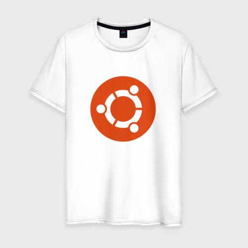 Мужская футболка хлопок Ubuntu OS