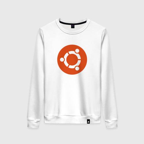 Женский свитшот хлопок Ubuntu OS