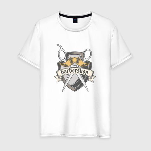 Мужская футболка хлопок БАРБЕРШОП