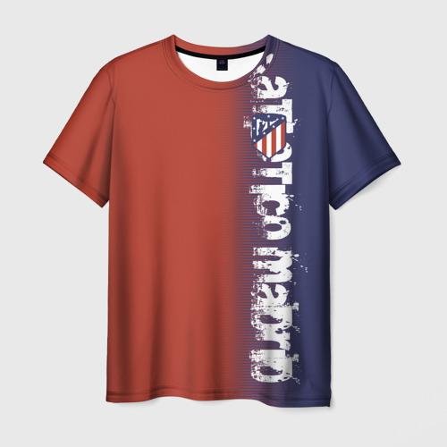 Мужская футболка 3D Atletico Madrid 2018 Original