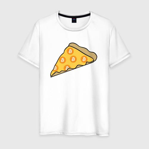 Мужская футболка хлопок Pizza