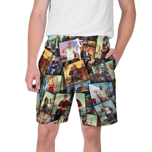 Мужские шорты 3D GTA
