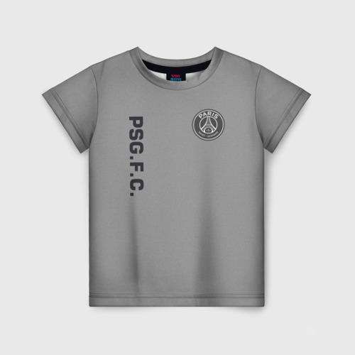 Детская футболка 3D PSG 2018 Vintage