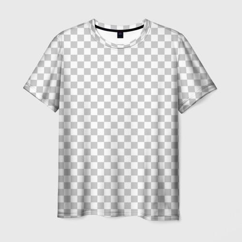 Мужская футболка 3D Прозрачность