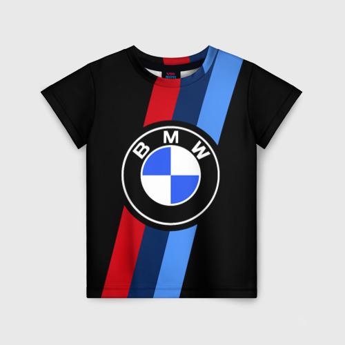 Детская футболка 3D BMW 2021 M SPORT / БМВ М СПОРТ