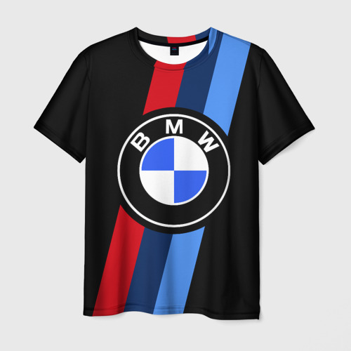 Мужская футболка 3D BMW 2021 M SPORT / БМВ М СПОРТ