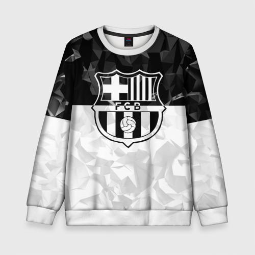 Детский свитшот 3D FC Barca Black Collection