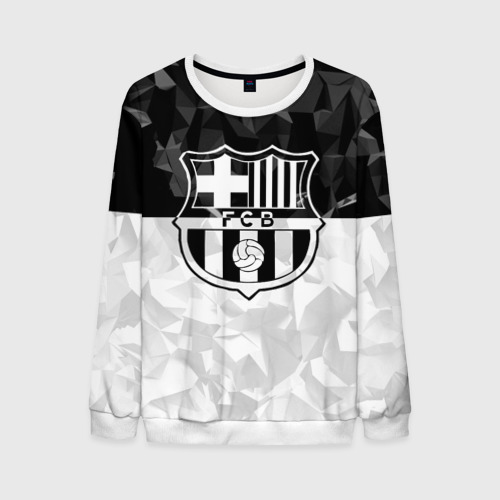 Мужской свитшот 3D FC Barca Black Collection