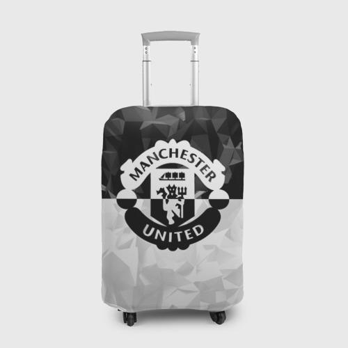 Чехол для чемодана 3D МАНЧЕСТЕР ЮНАЙТЕД | FCMU | MANCHESTER UNITED