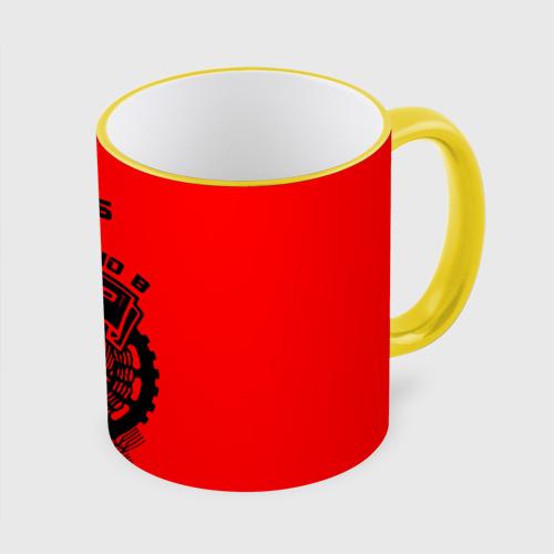Кружка с полной запечаткой Глеб - сделано в СССР