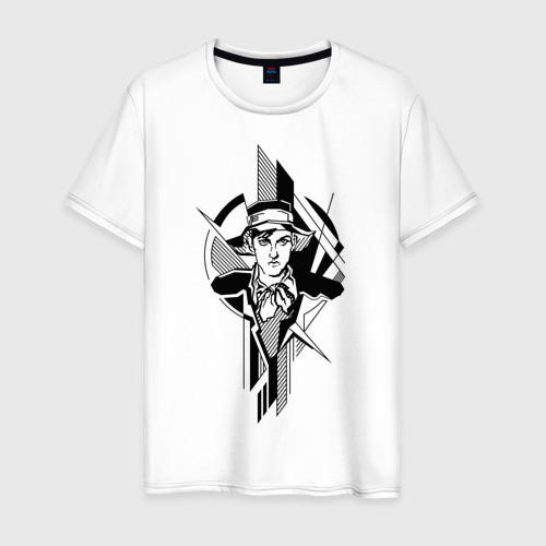 Мужская футболка хлопок Молодой Маяковский