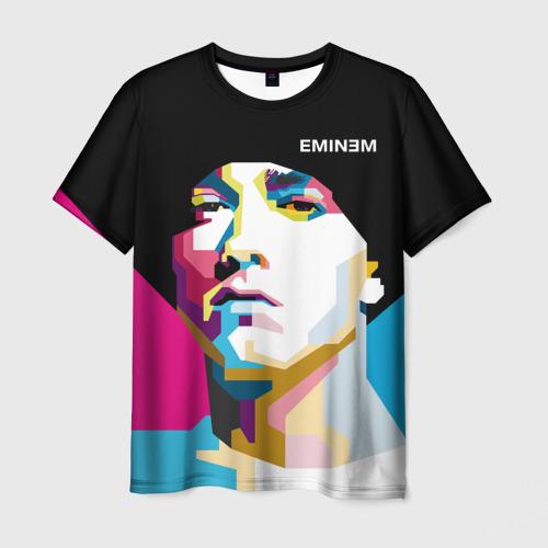 Мужская футболка 3D Eminem