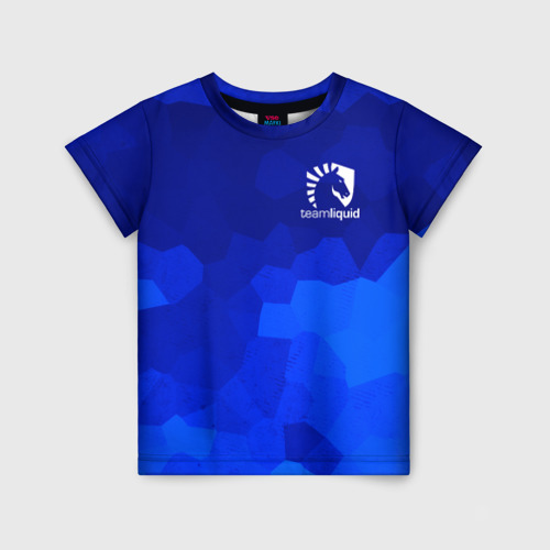 Детская футболка 3D Team Liquid Cybersport
