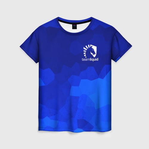Женская футболка 3D Team Liquid Cybersport