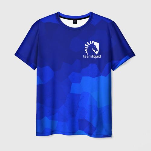 Мужская футболка 3D Team Liquid Cybersport